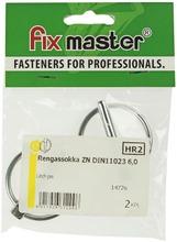 Fix Master Rengassokka 6,0Mm Sinkitty 2Kpl