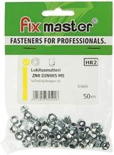 Fix Master Nylock-Lukitusmutteri M5 Sinkitty 8 50Kpl