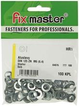 Fix Master Aluslevy M6 Sinkitty 100Kpl