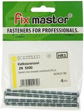 Fix Master Katkouraruuvi Pz 5X90 Sinkitty 4Kpl