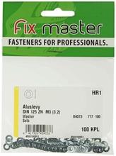 Fix Master Aluslevy M3 Sinkitty 100Kpl