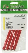 Fix Master Tox Yleistulppa 10X140 4Kpl