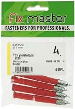 Fix Master Tox Yleistulppa 8X80 4Kpl