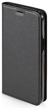 Wave Book Case, Samsung Galaxy S8, Metallimusta
