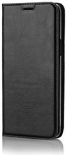 Wave Book Case, Samsung Galaxy S9, Musta
