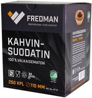 Fredman Kahvinsuodatin 110Mm 250Kpl