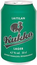 Laitilan Kukko Lager 4,7% 0,33L olut