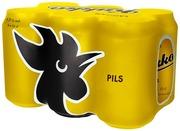 6 x Pils 4,5% 0,33L