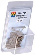 Maler Listanaulat 1,5X40 Vaaleanruskea 40 Kpl / Pkt 98129 Maler