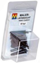 Maler Listanaulat 1,5X40 Tummanruskea 40 Kpl / Pkt 98130 Maler