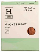 House Naisten Avokassukat 20Den 3-Pack