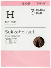 House Sukkahousut Shiny 15 Den 3-Pack