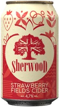 Sherwood Strawberry Fields Siideri 4,7% 0,33 L Tlk