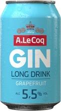 A. Le Coq Gin&Grapefruit Long Drink 5,5% 0,33 L Tlk