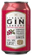 Olvi Iisalmi Puolukka Gin Lonkero 5,0 % 0,33 L Tlk