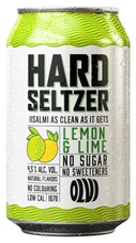 Olvi Hard Seltzer Sitruuna-Lime 4,5% 0,33 L Tlk