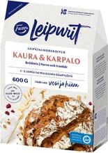 Fazer Leipurit Kaura-Karpalo Leipäjauhosekoitus 600 G