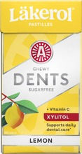 Läkerol Dents Lemon ksylitolipastilli 36g