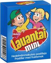 Malaco Lauantai Mini Pastilleja 20G
