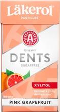 Läkerol Dents Pink Grapefruit Ksylitolipastilli 36G