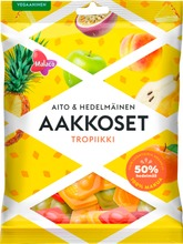 Malaco Aakkoset Aito & Hedelmäinen Tropiikki Makeissekoitus 230G