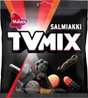 Malaco Tv Mix Salmiakki Makeissekoitus 280G
