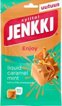 Jenkki Enjoy Caramel Mint Ksylitolipurukumi 70G