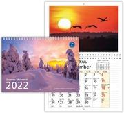 Seinäkalenteri Suomen Maisemat A3 2022
