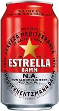 Estrella Damm N.a. 0,0% 0,33L Alkoholiton Oluttölkki
