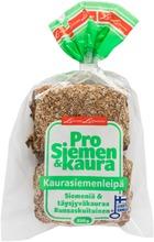 Leivon Leipomo  Prosiemen&Kaura ! 4 Kpl 315G Kaurasiemenleipä Halkaistu