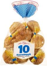 Leivon Leipomo 10 Kaurasämpylä 470G 10 Kpl Vehnäkaurasämpylä