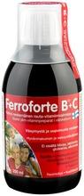 Ferroforte B   C Nestemäinen Rauta-Vitamiinivalmiste 250 Ml