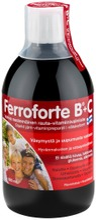 Ferroforte B   C Vahva Nestemäinen Rauta-Vitamiinivalmiste 500 Ml