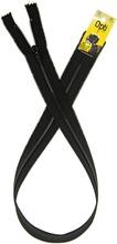 Opti vetoketju 1722700 spiraali 70cm musta