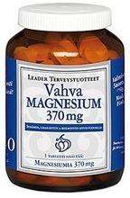 Leader Terveystuotteet vahva magnesium 370mg ravintolisä 140tablettia /134g