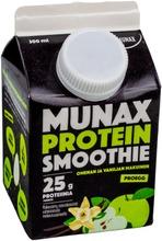 Munax Protein Smoothie 300 ml Omenan ja vaniljan makuinen välipalajuoma