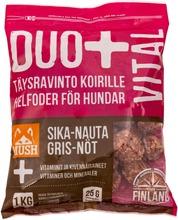 Duo  Sika-Nauta Täysrehu Koirille 1Kg Pakaste