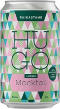 Raikastamo Luomu Mocktail Hugo 330Ml