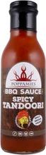 Poppamies Spicy Tandoori BBQ tandoorimaustettu grillikastike 405g