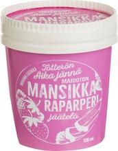 Tötterö 136Ml Mansikka-Raparperijäätelö Vegaaninen
