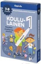 Oppi&Ilo Koululainen 1 -Puuhakortit 7-9 V