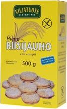 Virtasalmen Viljatuote Gluteeniton Hieno Riisijauho 500G