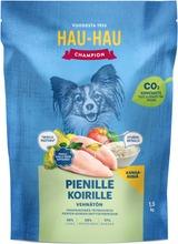 Hau-Hau Champion Kanaa Ja Riisiä Täysravinto Pienille Koirille 1,5 Kg