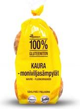 Hannun 320g puhdaskaurasämpylä gluteeniton 4kpl