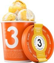 3 Kaverin Vähälaktoosinen Jäätelö, Mandariini & Jogurttisuklaa 500Ml