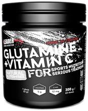 Leader Sports Nutrition Ravintolisä  L-Glutamiini-C-Vitamiinijuomajauhe 300G