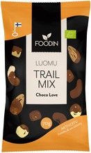 Foodin Activated Trail Mix Choco Love Luomu 70G