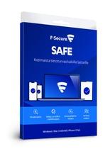 F-Secure Safe Tietoturvaohjelma 2 Vuotta 3 Laitetta