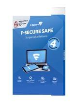 F-Secure Safe 1 Vuosi 3 Laitetta   4Kk