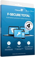 F-Secure Total 1 Vuosi...